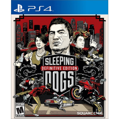 Sleeping Dogs. Definitive Edition [PS4]