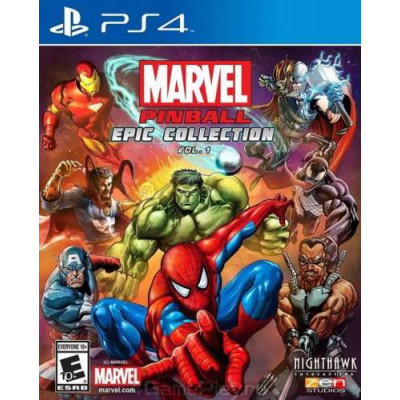Marvel Pinball Epic Collection Volume 1 [PS4]