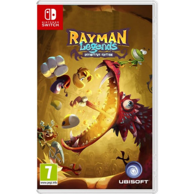 Rayman Legends Definitive Edition [Switch]
